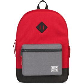 Herschel Heritage XL rugzak grijs/rood